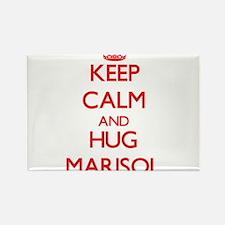Keep Calm and Hug Marisol Magnets