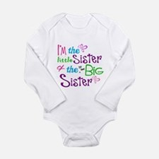Im a littl and big sister Body Suit