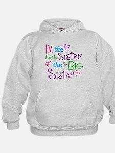Im a littl and big sister Hoodie