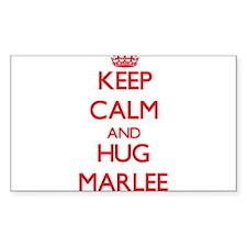 Keep Calm and Hug Marlee Decal