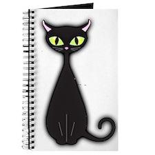 Journal Retro Black Cat Journal