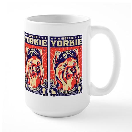 Obey the YORKIE! Propaganda UK Pilot Mugs