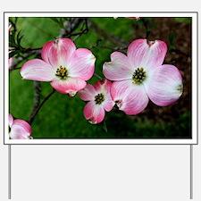 Dogwood Flower Yard Sign