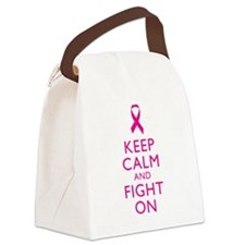 Keep Calm And Fight On Breast Cancer Support Canva