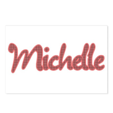 Michelle Postcards (Package of 8)