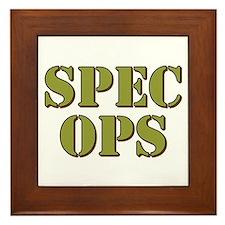 SPEC OPS Framed Tile