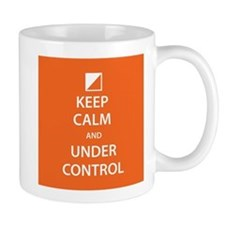 Keep Calm And Under Control Mugs