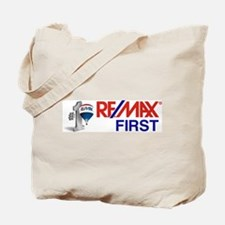 Remax_First_logo_stacked _balloon Tote Bag