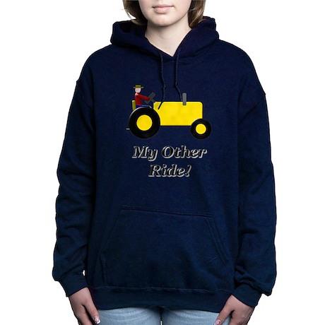 My Other Ride Yellow Hooded Sweatshirt