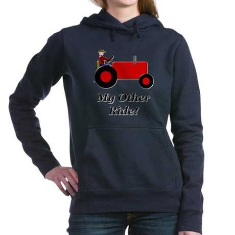 My Other Ride Red Hooded Sweatshirt
