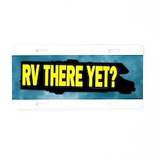 Cute Rv Aluminum License Plate