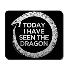 Hemlock Grove Dragon Mousepad
