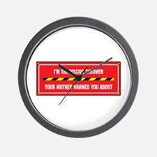 I'm the Discus Thrower Wall Clock