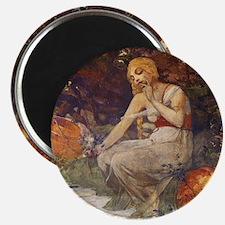 Prophetess by Mucha Magnet