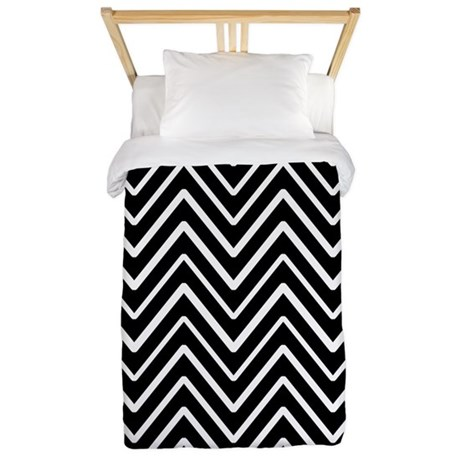 Black and white chevron stripes 11 twin duvet jpg color white amp height