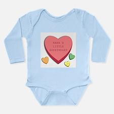 """""""Nana's's Little Sweetheart"""" Infant Creeper Body S"""
