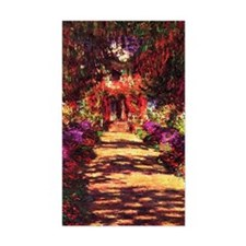 Garden Path by Claude Monet Decal
