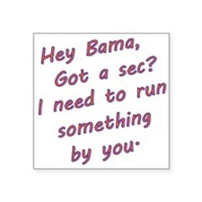Hey Bama Sticker