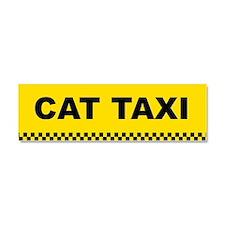 Funny Taxicab Car Magnet 10 x 3