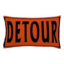 Detour Pillow Case