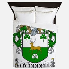 O'connell Coat Of Arms Queen Duvet