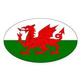 Welsh dragon Bumper Stickers