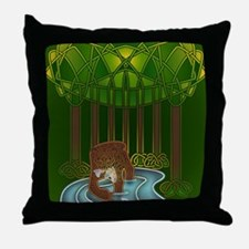 Bear of Wisdom Throw Pillow