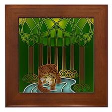Bear of Wisdom Framed Tile