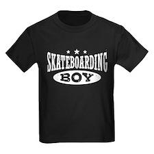 Skateboarding Boy T
