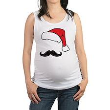 santa Maternity Tank Top