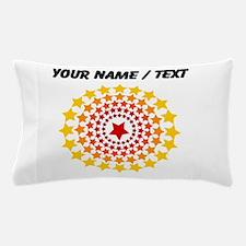 Custom Circle Of Stars Pillow Case