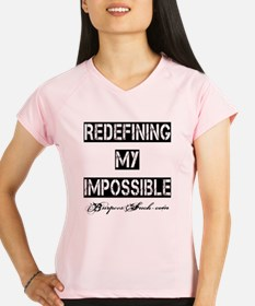 MY IMPOSSIBLE - WHITE Performance Dry T-Shirt