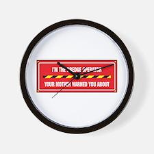 I'm the Dredge Operator Wall Clock