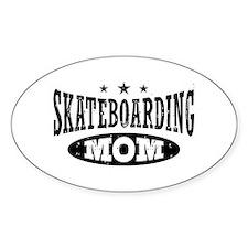 Skateboarding Mom Decal