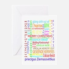Merry Christmas Foreign Language Greeting Card