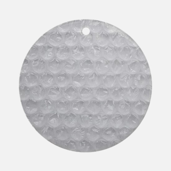 Bubble Wrap Ornament (Round)