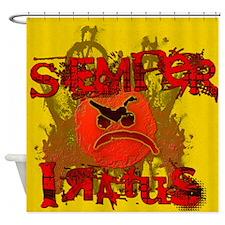 Semper Iratus Shower Curtain