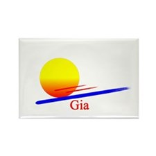 Gia Rectangle Magnet