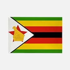 Zimbabwe Flag Rectangle Magnet