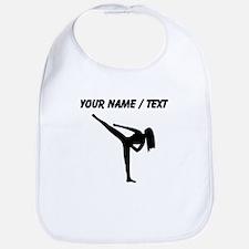 Custom Karate Silhouette Bib