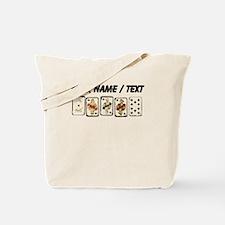 Custom Royal Flush Tote Bag