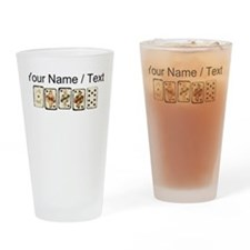 Custom Royal Flush Drinking Glass