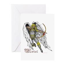 Archangel Uriel Greeting Cards (Pk of 10)