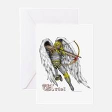 Archangel Uriel Greeting Cards (Pk of 10)