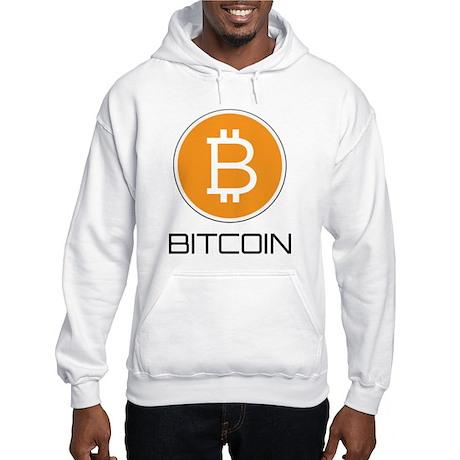 Bitcoin Logo Hooded Sweatshirt