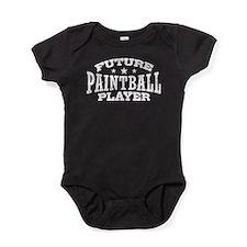 Future Paintball Player Baby Bodysuit