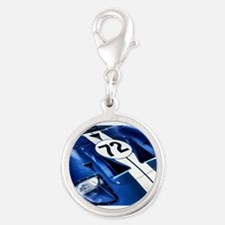 Blue Number 72 Charms