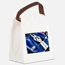 Blue Number 72 Canvas Lunch Bag
