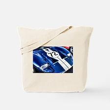 Blue Number 72 Tote Bag