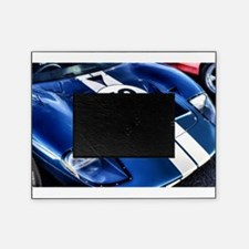 Blue Number 72 Picture Frame